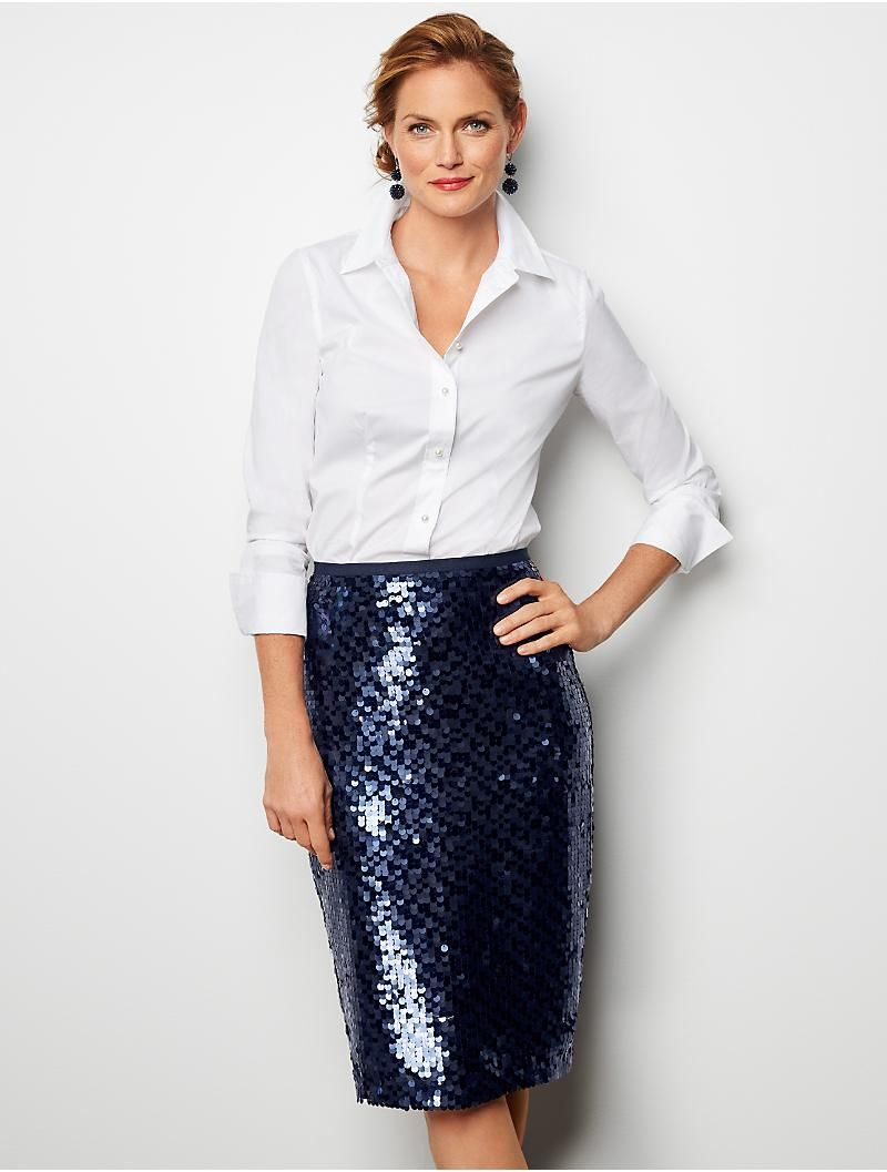 ab84cbc610ed Sequined Pencil Skirt in 2019 | The Way I Look Tonight | Sequin ...