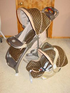 4b351c5bf7e louis vuitton baby car seat and stroller