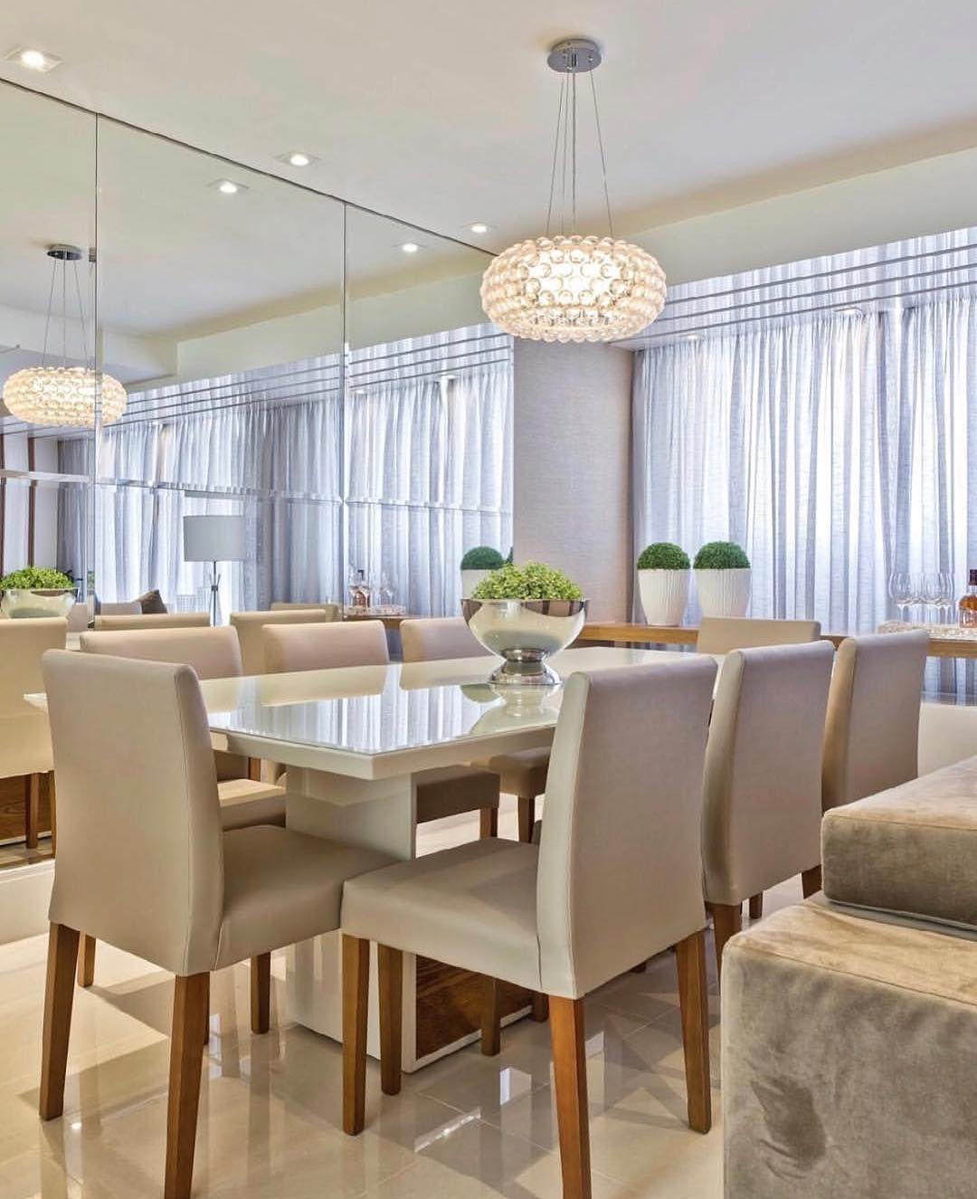 Lustre Sala De Jantar Diferente Estar Jantar Pinterest Room