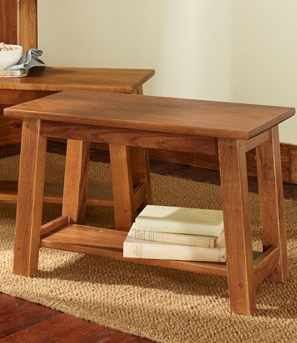 Mission Fireside Bench, Small: Benches | Free Shipping at L.L.Bean ...