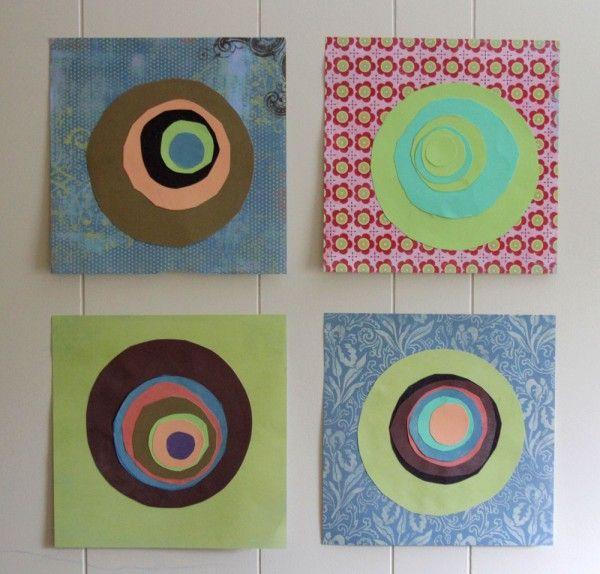cute concentric circles