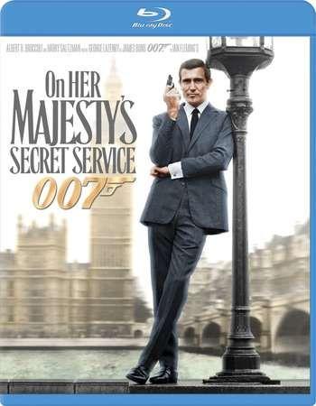 Poster Of On James Bond On Her Majesty S Secret Service 1969 Dual