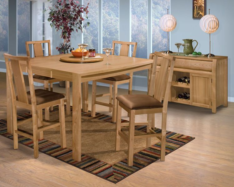 Cabo 7pc Pub Height Dining With Images Home Home Decor Dining
