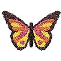 Butterfly Made From Tissue Paper is part of Kids Crafts Ideas Butterfly - This delightful Butterfly Made From Tissue Paper will make your room a special place  Show the kids photos of real butterflies for inspiration
