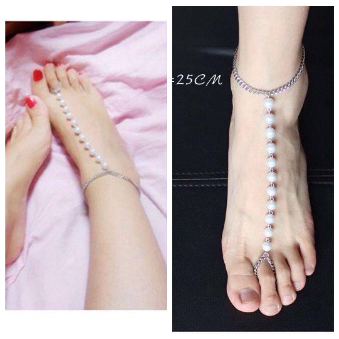 67f6327c37d LOLEY53902 - Rs 350 -  jewellery  anklets  stylish  pearls  indowestern   fusion  fashion  style  love  like  grab  lolstudiops  mangalore  madikeri   india ...