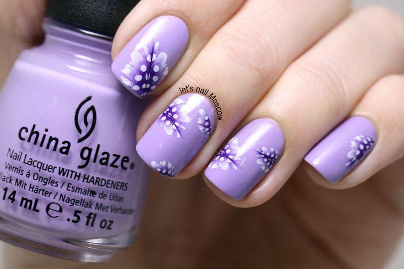 feather nails / nail art :) nail art by Let\'s Nail Moscow | Nail art ...