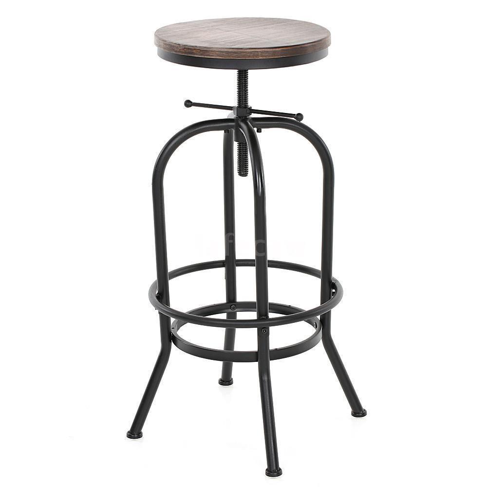 barhocker barstuhl barm bel rund hocker vintage retro holz industrial stuhl a4r9 bar. Black Bedroom Furniture Sets. Home Design Ideas