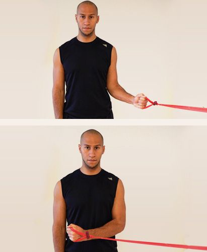 Shoulder - External Rotation With Resistance Band