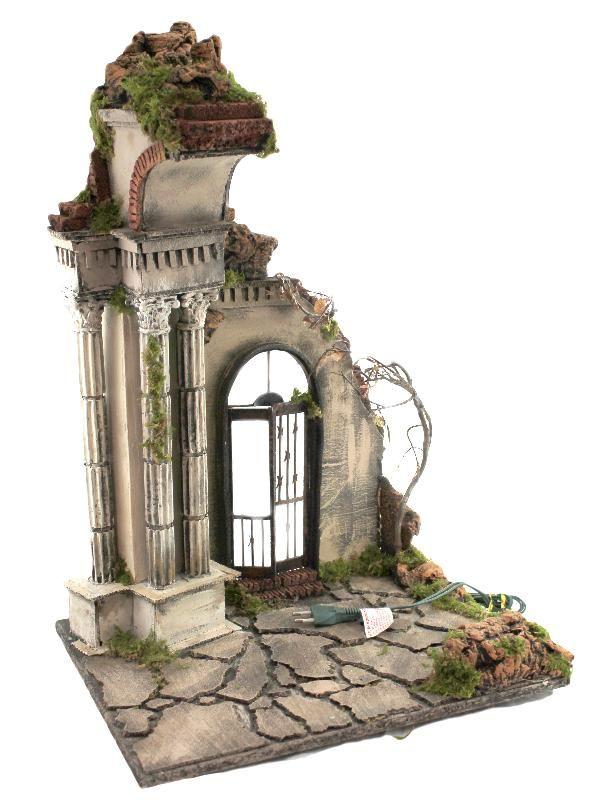Particolare per presepe il presepe pinterest miniatyrer - Decorazione archi in casa ...