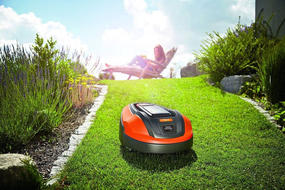 Droid Lawnmower Ground Grass Cutter Garden Outdoor Robotic Lawn Automower Filler Robotic Mower Robotic Lawn Mower Outdoor Gardens