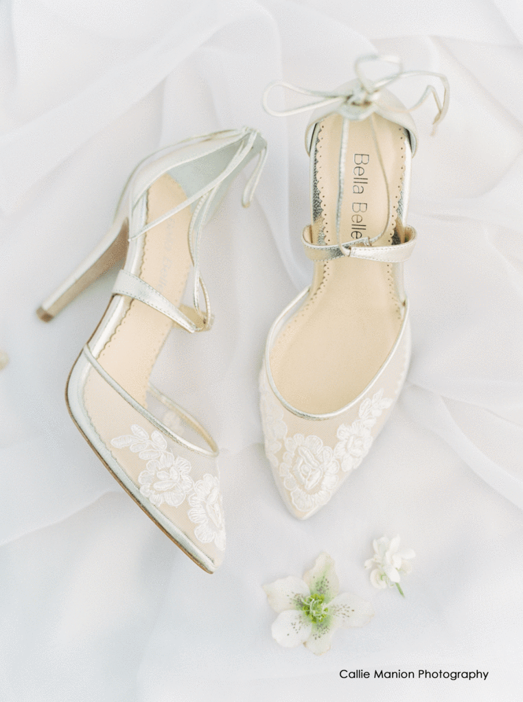 e01706c342e comfortable gold lace wedding and evening shoes ankle-tie
