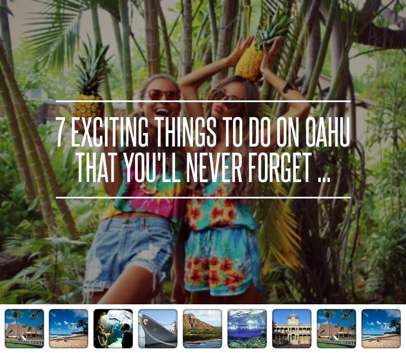 4. Discover History at Pearl Harbor - 7 Exciting Things to do on Oahu That You'll Never Forget ... → Travel