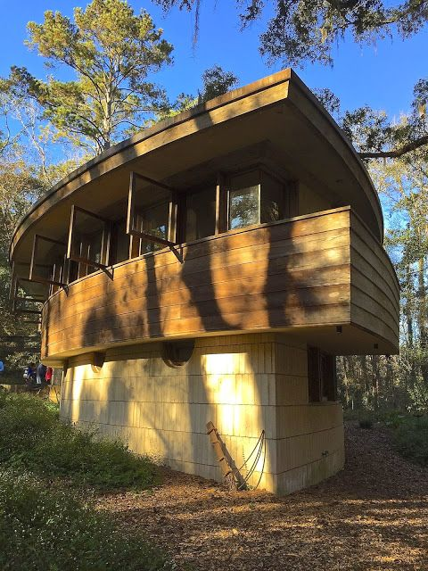 Tallahassee Daily Photo: Spring House designed by Frank Lloyd Wright