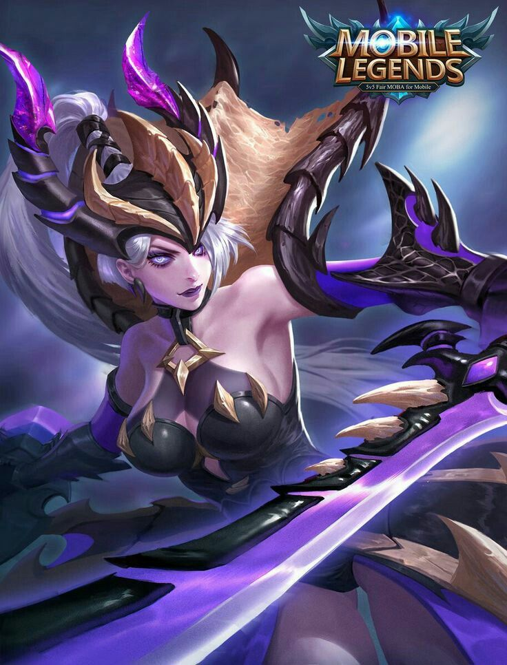 Mobile Legends Freya Skin Lol League Of Legends Fantasy Art Women Dark Fantasy