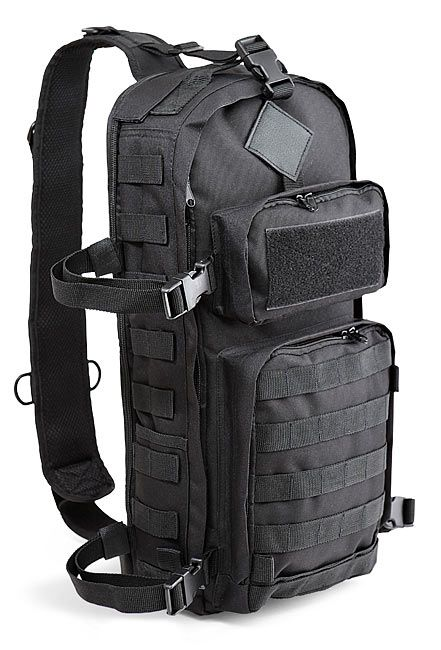 Tgx Skirmisher Tactical Sling Bag Thinkgeek
