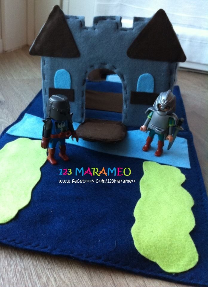 Castle Playmat Crafts Small World Play World Play