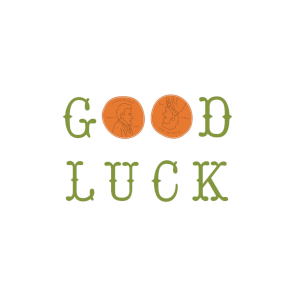 Lucky Penny Good Luck Card Free Greetings Island Good Luck Cards Lucky Penny Printable Cards