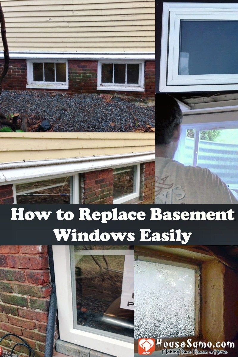 How To Replace Basement Windows Without Difficulty Basement Windows Basement Basement Window Replacement