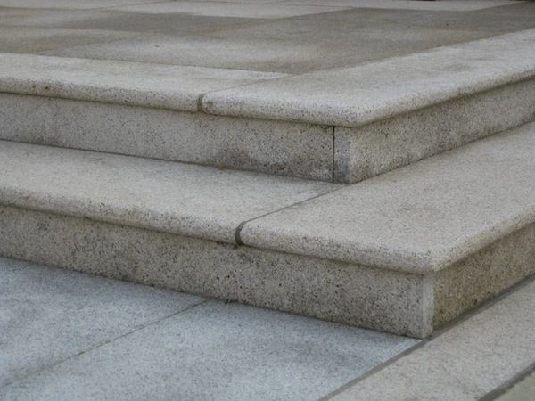 Best Limestone Steps With Bullnose Finish Limestone Cottage 400 x 300