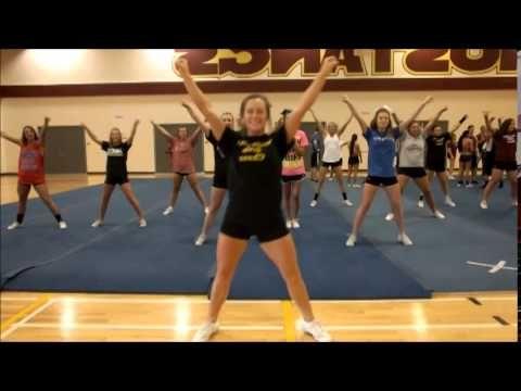 msu fight song dance mirrored cheerleading pinterest msu