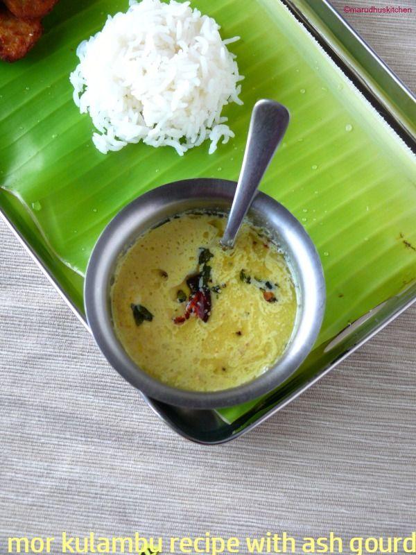Pumpkin Mor Kulambu Ash Gourd Simple Recipe Of Rice Marudhuskitchen Recipe Recipes Indian Food Recipes Vegetarian South Indian Vegetarian Recipes