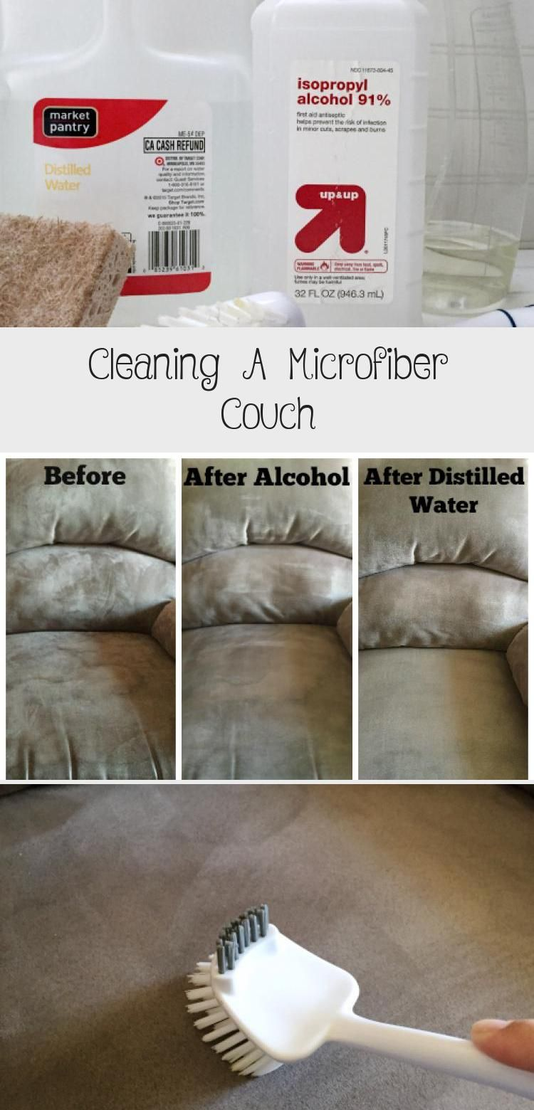 Cleaning A Microfiber Couch Microfiber couch, Cleaning