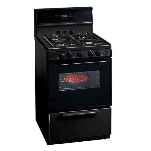 Premier 24 Electronic Ignition Gas Range Black Range Cooktop Gas And Electric Gas And Electric Ranges