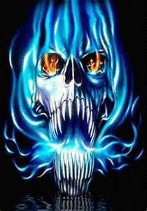 Ghost Rider Flame Skull Wallpaper Angel Fire