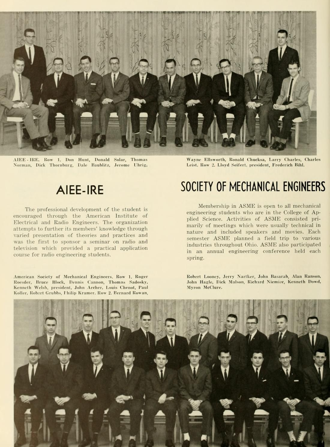 Athena Yearbook 1962 Members Of The American Institute Of