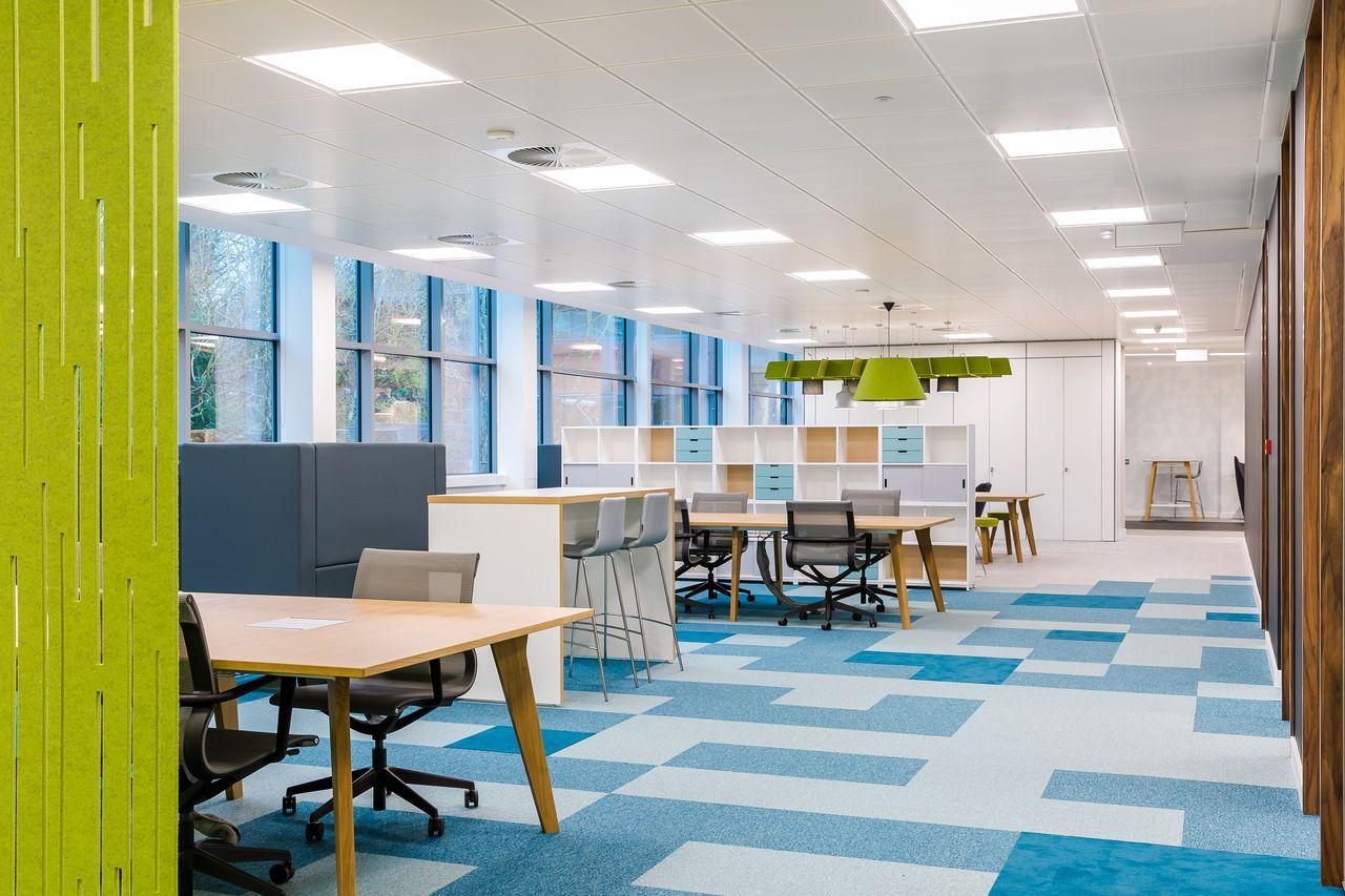 Forbo Flooring Systems Tessera carpet tiles for Zebra
