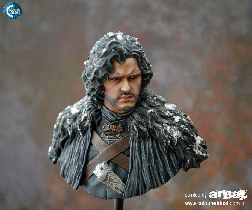 Jon Snow   Miniature Painting   Jon snow, Painting, Fantasy