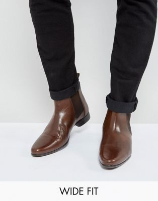 ASOS | ASOS Wide Fit Chelsea Boots in