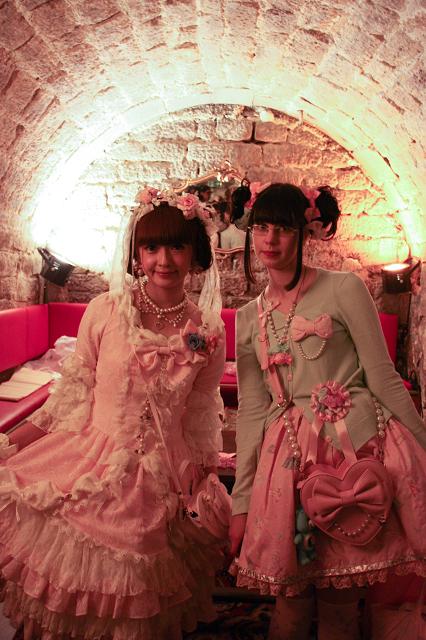 Misako Aoki and Kata in Paris