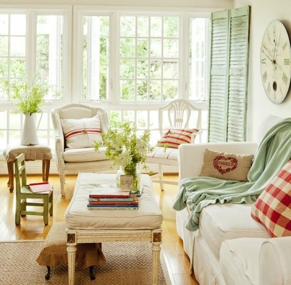 Beautiful French Country Living Room Pinned From Garden House