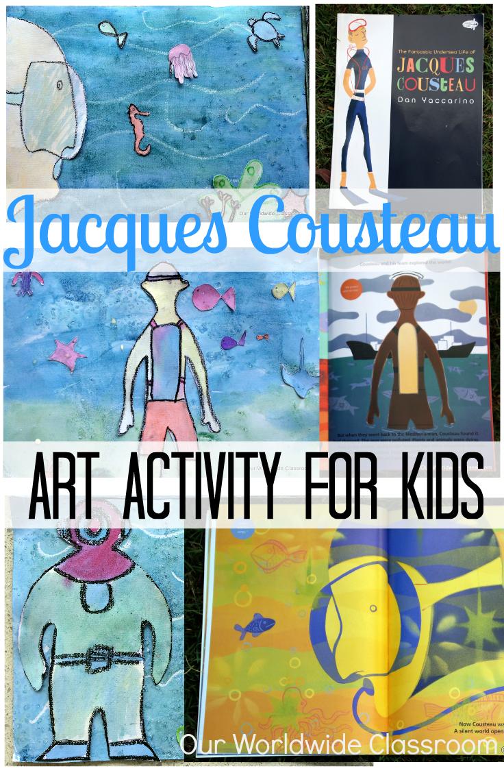 Jacques Cousteau Unit Study