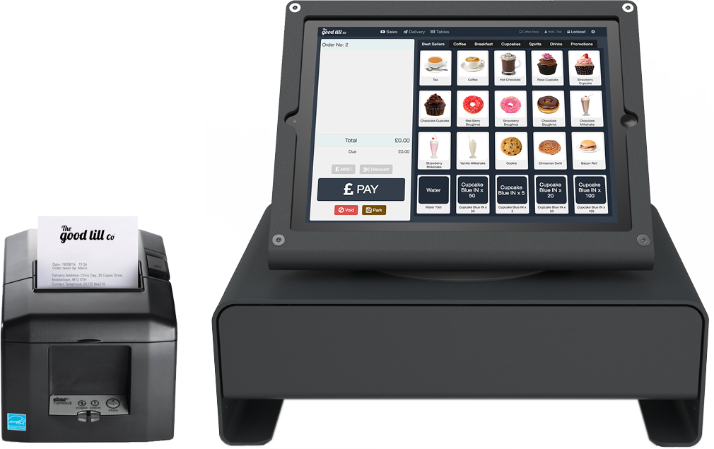 What is a POS system? iPad tablet based EPOS systems in