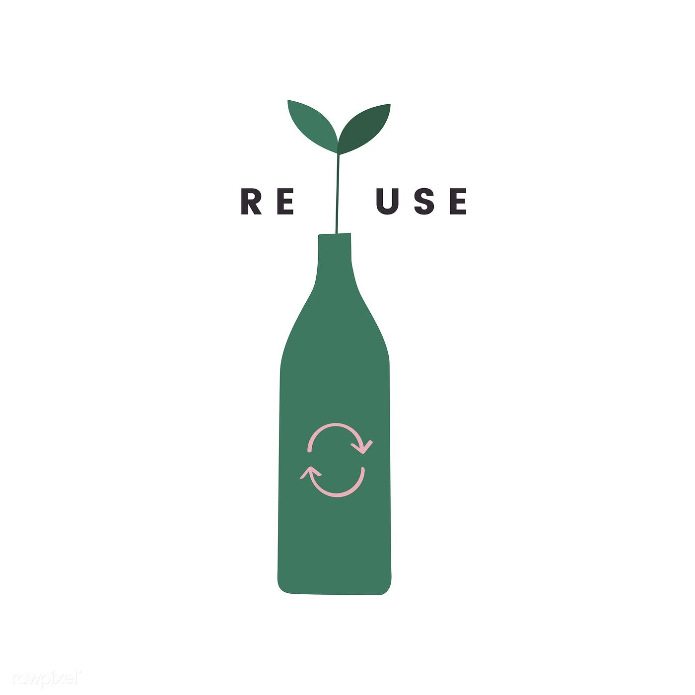 Reduce Reuse And Recycle Icon