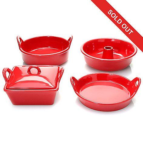 462 915 Cook S Companion Five Piece Air Fryer Ceramic Bakeware
