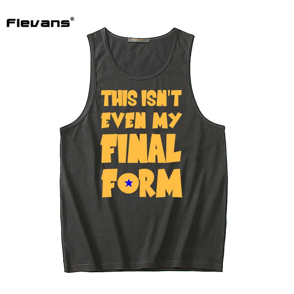 86f2bc5d7dd0 Buy Flevans 2017 New Men Summer Cotton Tank Tops Vest Sleeveless Shirts  Dragon Ball Z This