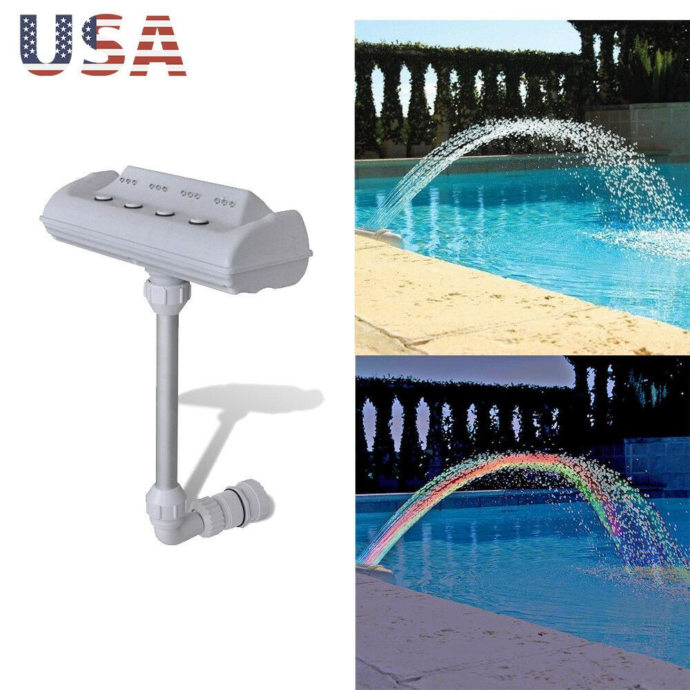 Pool Accessory Lights Show Waterfall