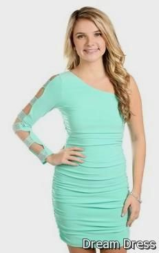 Tight Homecoming Dresses One Shoulder
