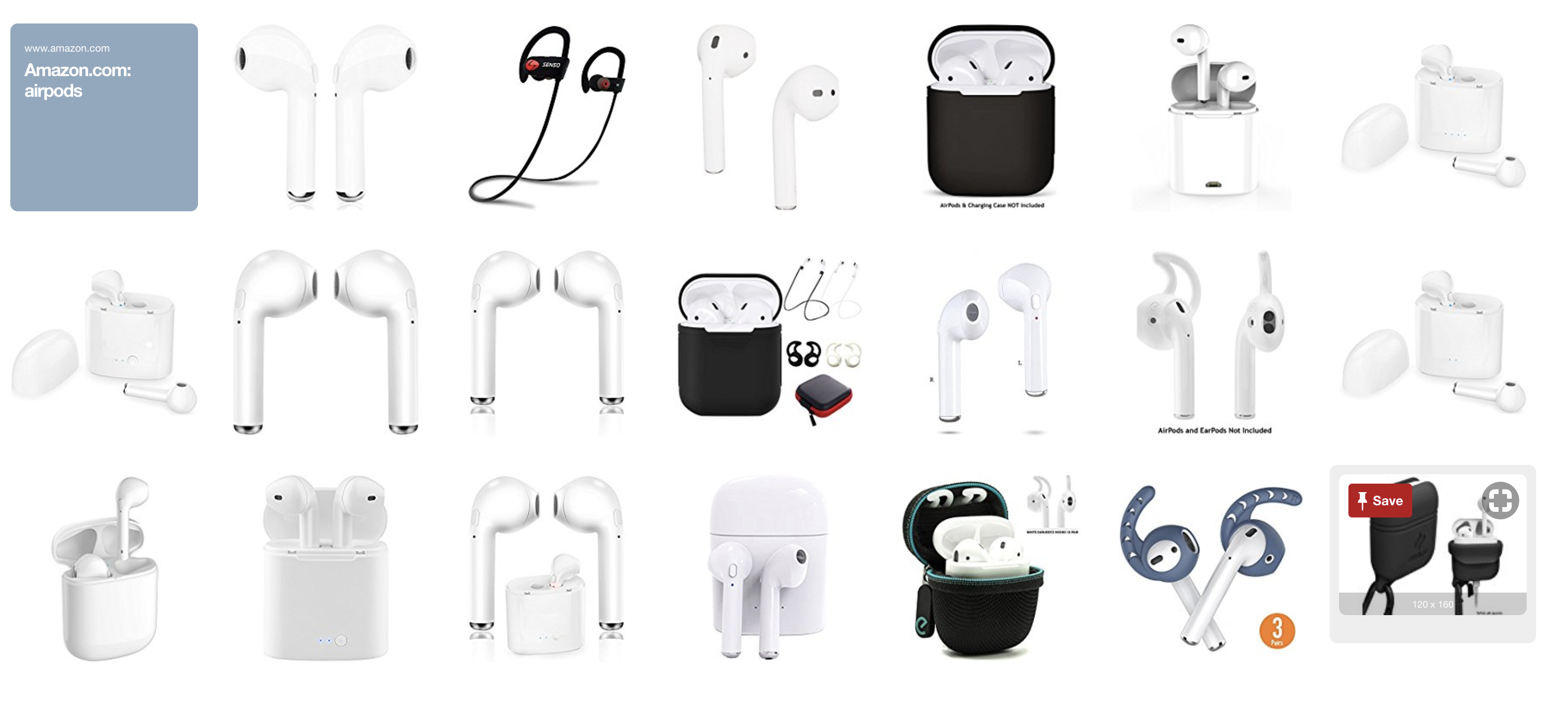Apple AirPods - cheap knockoffs!•• 2018-02 on Amazon