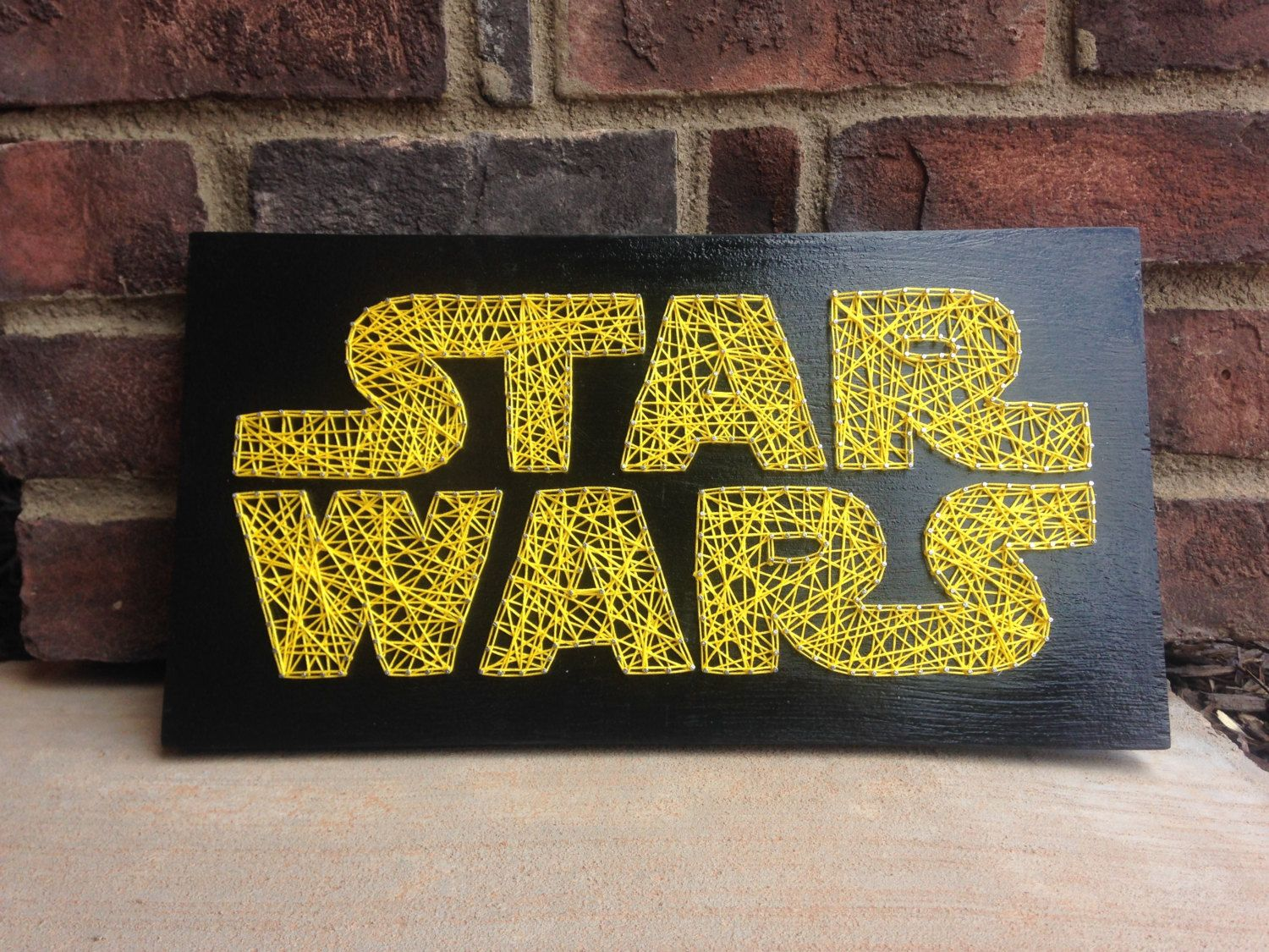 Star Wars Inspired String Art Board wooden sign home decor wood wall ...
