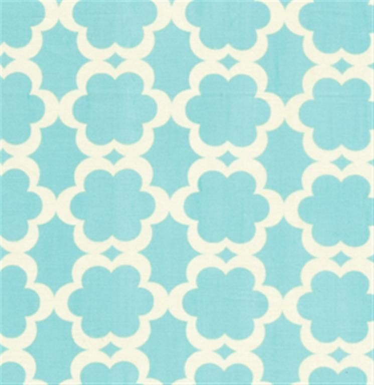 Kumari Garden Tarika Blue By Free Spirit Geometric Fabric