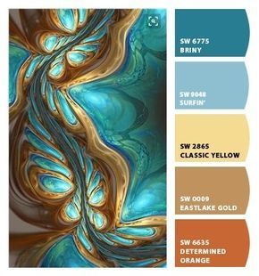 Paint colors from ColorSnap by Sherwin-Williams #paintcolorschemes