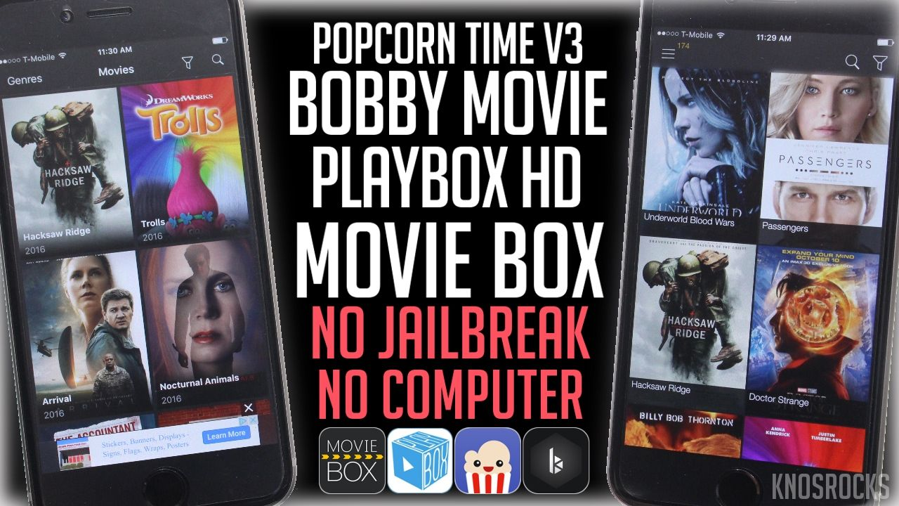 How To Watch Movies & TV Shows Free iOS 10.2.1 No