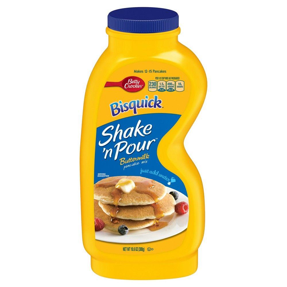 Bisquick Shake N Pour Buttermilk Pancake Mix 10 6oz Buttermilk Pancake Mix Pancakes Mix Buttermilk Pancakes