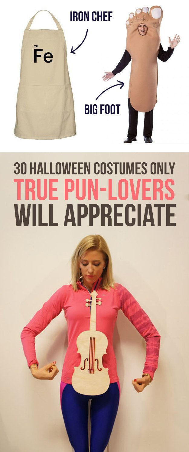30 Halloween Costumes Only True Pun-Lovers Will Appreciate ...