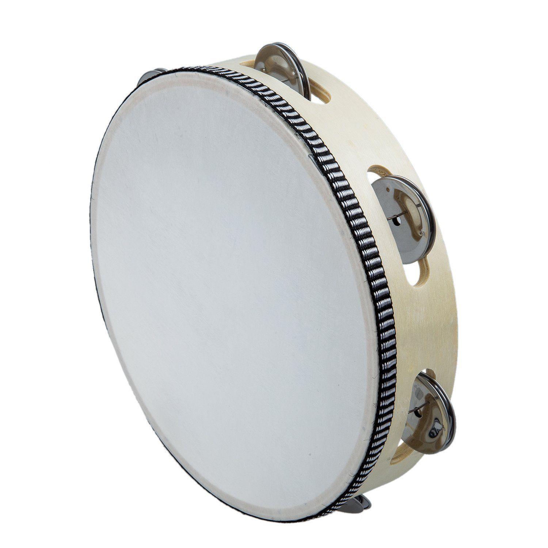 Tambourine Drum Round Percussion Gift Percussion, Toy