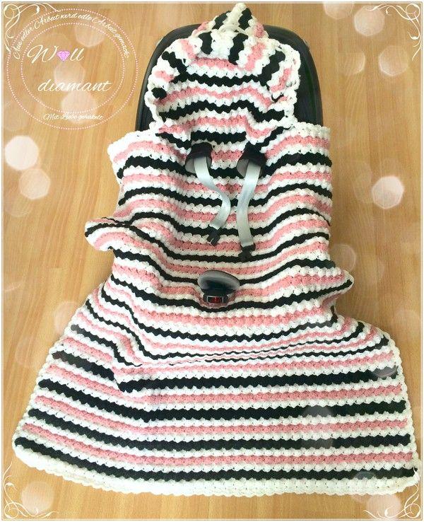 Pin von Wilma Solawa auf Häkla   Pinterest   Babydecken, Deckchen ...